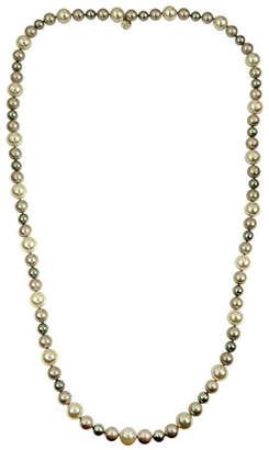 Majorica White, Gray & Nuage Pearl Necklace, 35""