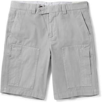 Brunello Cucinelli Cotton-Gabardine Shorts