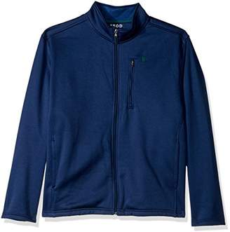 Izod Men's Big and Tall Spectator Solid Fleece Jacket