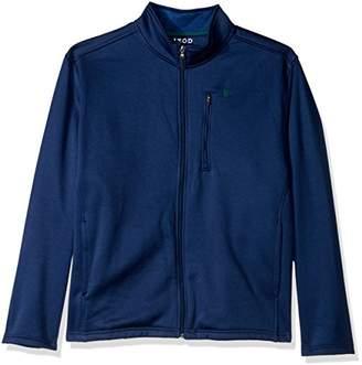 Izod Men's Big and Tall Spectator Solid Fleece Jacket