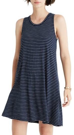 Women's Madewell Holly Stripe Shift Dress
