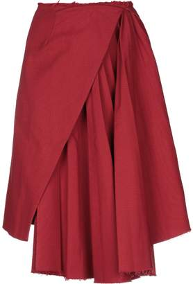 Off-White OFF-WHITETM Knee length skirts - Item 35390894OU