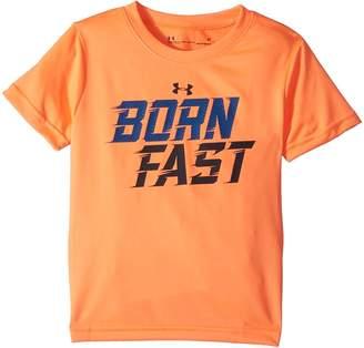 Under Armour Kids Born Fast Short Sleeve Tee Boy's T Shirt