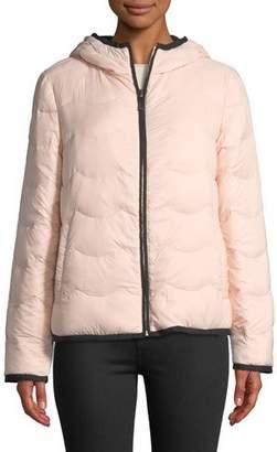 Kate Spade Hooded & Packable Down Jacket