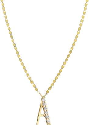 Lana Initial Pendant Necklace
