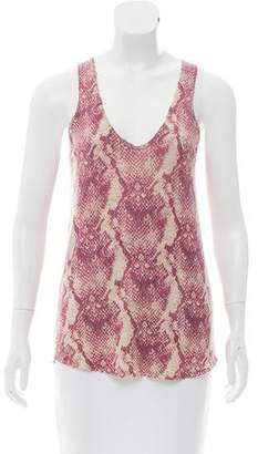 Zadig & Voltaire Cashmere Sleeveless Top