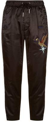 Diesel Side Stripe Embroidered Sweatpants