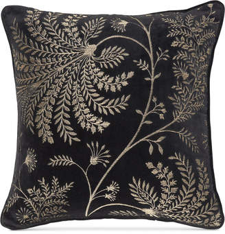 "Sanderson Mapperton Embroidery 18"" x 18"" Decorative Pillow Bedding"