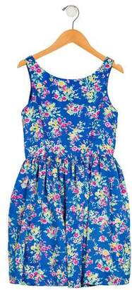 Polo Ralph Lauren Girls' Floral Print Dress w/ Tags
