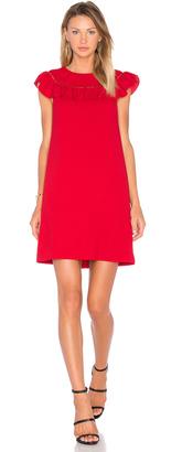 Trina Turk Ruffle Dress $268 thestylecure.com