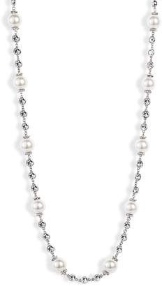 Jenny Packham Imitation Pearl Collar Necklace