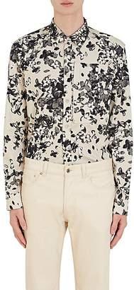 Givenchy Men's Hydrangea-Print Cotton Shirt