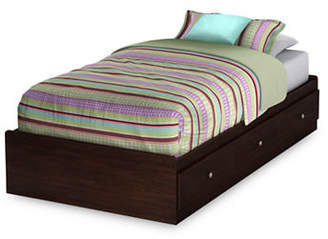 SOUTH SHORE Willow Twin Mates Bed with Three Drawers