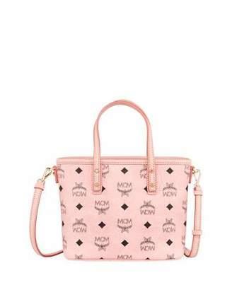 MCM Anya Mini Logo Shopper Bag