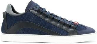 DSQUARED2 denim low-top sneakers