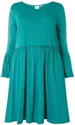 Dorothy Perkins Womens **Juna Rose Curve Teal Dress