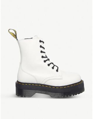 Dr. Martens Jadon 8-eye leather platform boots