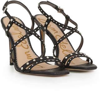 94784127d Sam Edelman Black Strappy Women s Sandals - ShopStyle