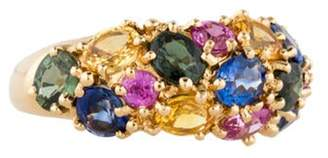 Chaumet Multi-Color Sapphire Ring yellow Multi-Color Sapphire Ring