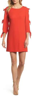 FOREST LILY Bow Sleeve Shift Dress