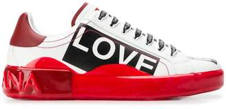Dolce & Gabbana low top trainers