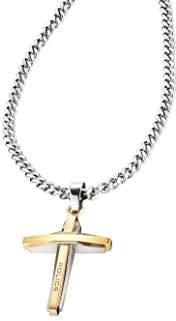 Police Men Stainless Steel Pendant Necklace - PJ25695PSG.02