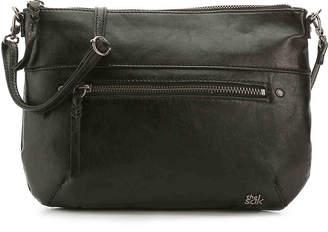 The Sak Oleta Leather Crossbody Bag -Black Leather - Women's