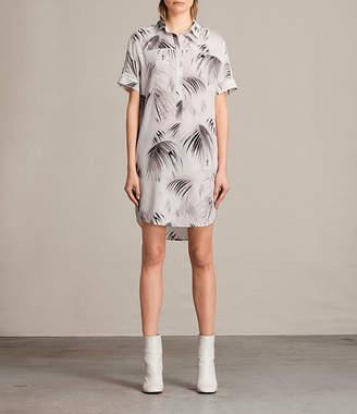 AllSaints Elen Neluwa Silk Dress