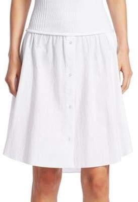 Alexander Wang Cotton Poplin Skirt