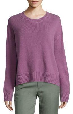 Vince Cashmere Crewneck Sweater $345 thestylecure.com