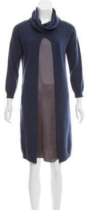 Fabiana Filippi Wool & Silk-Blend Dress