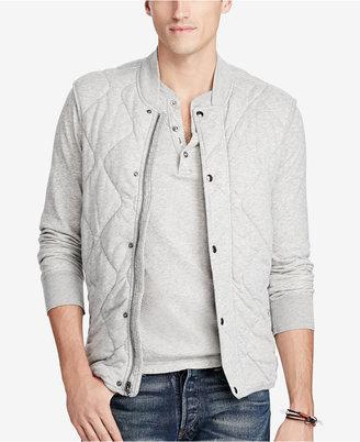 Polo Ralph Lauren Men's Quilted Jersey Vest $145 thestylecure.com