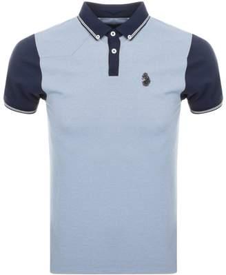 Luke 1977 Steve The Bouncer Polo T Shirt Blue