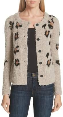 Smythe Hand Knit Intarsia Granny Cardigan