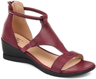 Journee Collection Womens Jc Trayle Wedge Sandals