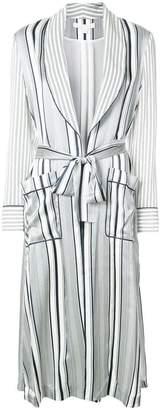 Jonathan Simkhai striped oversized jacket