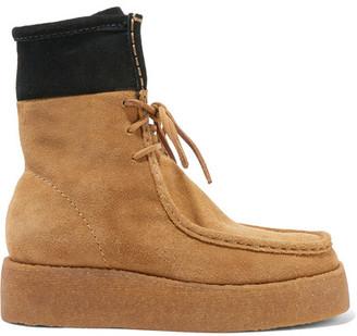 Alexander Wang - Selma Suede Desert Boots - Camel $495 thestylecure.com