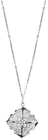 Jules Smith Anchors Away Silver Necklace
