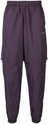 Balenciaga zipped tracksuit pants
