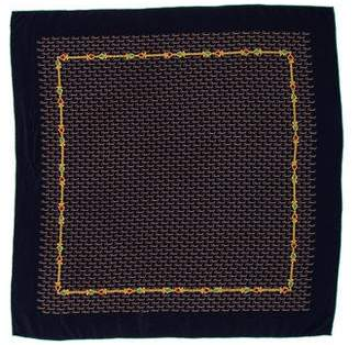 Chanel Logo Bijoux Silk Scarf
