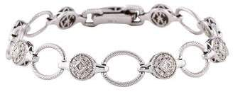 Charriol 18K Diamond Link Bracelet