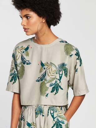 NATIVE YOUTH Printed Top