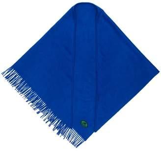 Burberry cashmere embroidered logo bandana