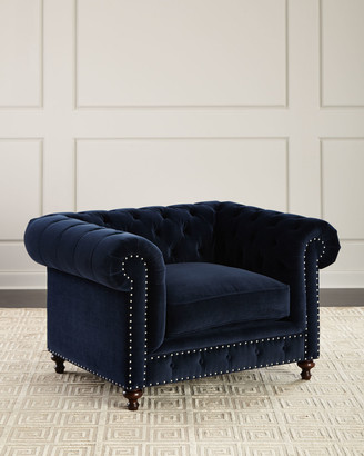 ... Horchow · Tia Tufted Chair