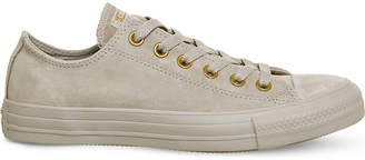 Converse low-top suede trainers