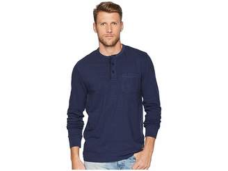 Calvin Klein Jeans Long Sleeve Baseball Neck Henley