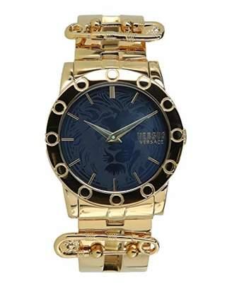 Versus By Versace Women's 'Miami Bracelet' Quartz Tone and Gold Plated Fashion Watch(Model: VSP721817)