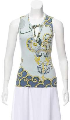 Emilio Pucci Sleeveless Knit Top