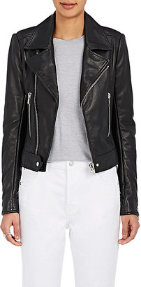 "Balenciaga Women's ""New"" Classic Moto Leather Jacket $2,745 thestylecure.com"