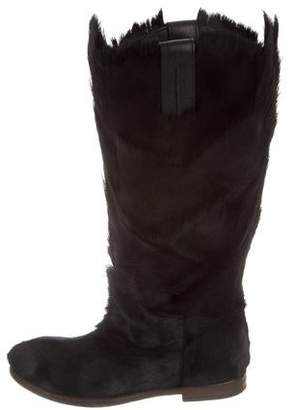 Dolce & Gabbana 2015 Ponyhair Boots w/ Tags